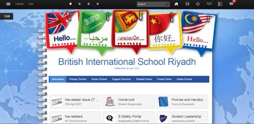 British International School of Riyadh - Frog LMS