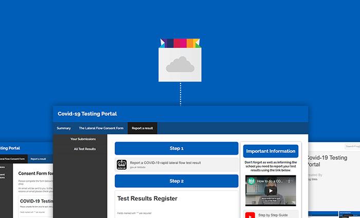 Covid testing support for September