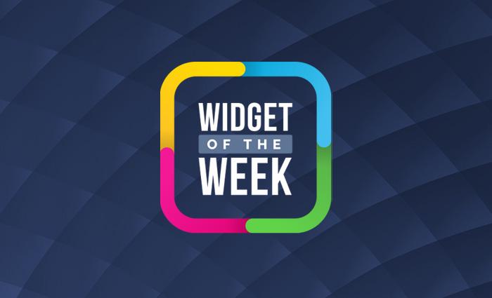 Frog Widget of the Week